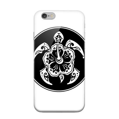 Geeks Designer Line (GDL) Apple iPhone 6 Matte Hard Back Cover - Island Turtle Solo