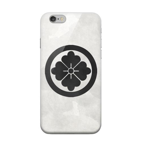 Geeks Designer Line (GDL) Apple iPhone 6 Matte Hard Back Cover - Hanabishi Kamon on Paper