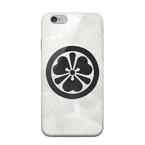 Geeks Designer Line (GDL) Apple iPhone 6 Matte Hard Back Cover - Katabami Kamon on Paper v.3