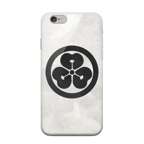 Geeks Designer Line (GDL) Apple iPhone 6 Matte Hard Back Cover - Katabami Kamon on Paper v.4