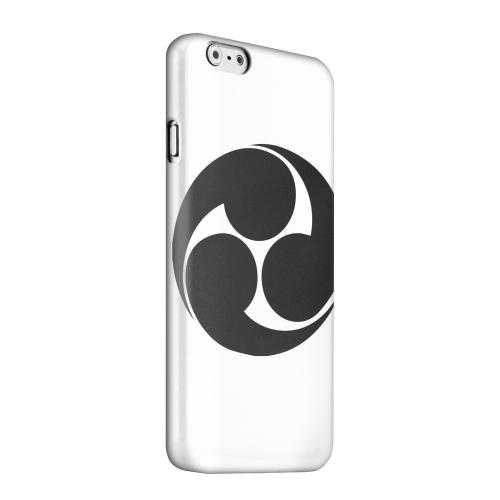 Geeks Designer Line (GDL) Apple iPhone 6 Matte Hard Back Cover - Tomoe Kamon v.1