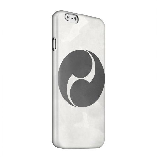 Geeks Designer Line (GDL) Apple iPhone 6 Matte Hard Back Cover - Tomoe Kamon on Paper v.2