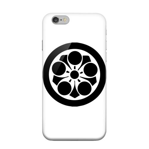 Geeks Designer Line (GDL) Apple iPhone 6 Matte Hard Back Cover - Umebachi Kamon v.2