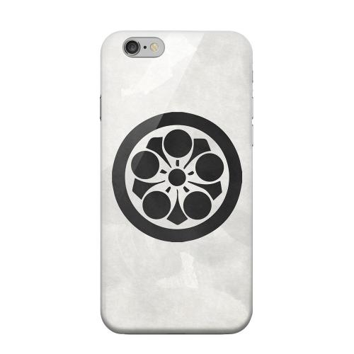 Geeks Designer Line (GDL) Apple iPhone 6 Matte Hard Back Cover - Umebachi Kamon on Paper v.2