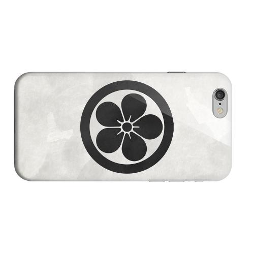 Geeks Designer Line (GDL) Apple iPhone 6 Matte Hard Back Cover - Umebachi Kamon on Paper v.3