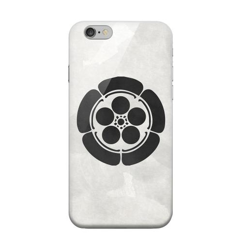 Geeks Designer Line (GDL) Apple iPhone 6 Matte Hard Back Cover - Umebachi Kamon on Paper v.4