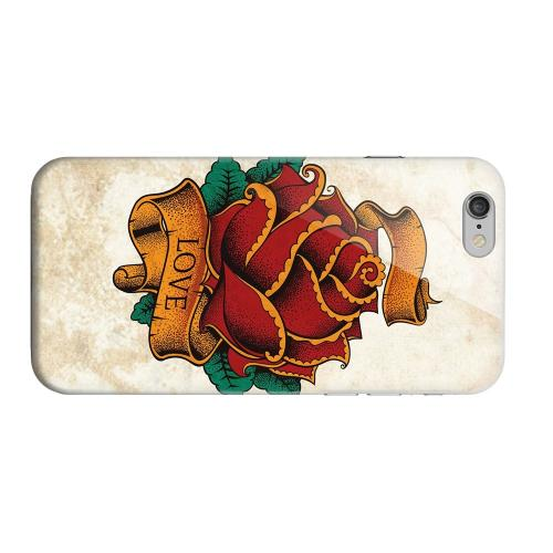 Geeks Designer Line (GDL) Apple iPhone 6 Matte Hard Back Cover - Love Rose