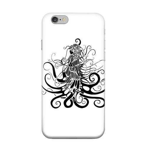 Geeks Designer Line (GDL) Apple iPhone 6 Matte Hard Back Cover - Black Medua on White