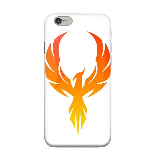 Geeks Designer Line (GDL) Apple iPhone 6 Matte Hard Back Cover - Phoenix Flame