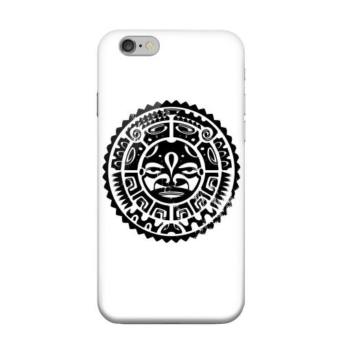Geeks Designer Line (GDL) Apple iPhone 6 Matte Hard Back Cover - Polynesian Face