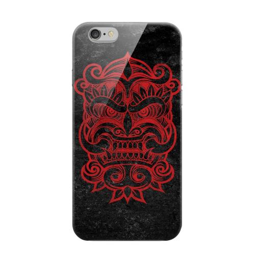 Geeks Designer Line (GDL) Apple iPhone 6 Matte Hard Back Cover - Red Devil Mask