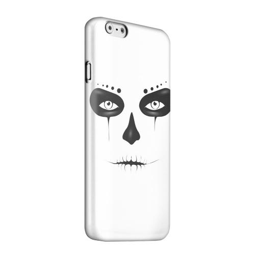 Geeks Designer Line (GDL) Apple iPhone 6 Matte Hard Back Cover - Skull Face
