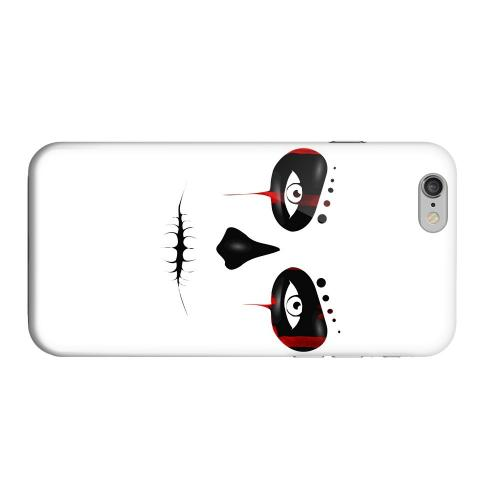 Geeks Designer Line (GDL) Apple iPhone 6 Matte Hard Back Cover - Skull Face Blood