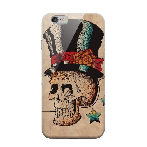 Geeks Designer Line (GDL) Apple iPhone 6 Matte Hard Back Cover - Smoking Skull