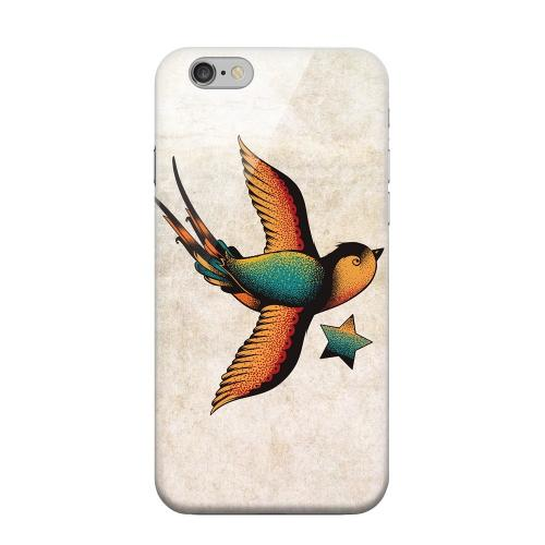 Geeks Designer Line (GDL) Apple iPhone 6 Matte Hard Back Cover - Swallow Star