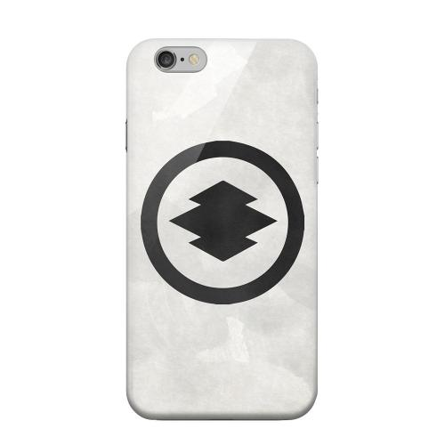 Geeks Designer Line (GDL) Apple iPhone 6 Matte Hard Back Cover - Hishi Kamon on Paper v.2