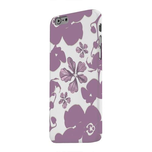 Geeks Designer Line (GDL) Apple iPhone 6 Matte Hard Back Cover - Purple Orchids