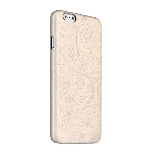 Geeks Designer Line (GDL) Apple iPhone 6 Matte Hard Back Cover - Floral 1 Linen