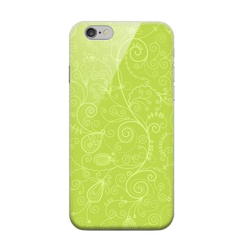 Geeks Designer Line (GDL) Apple iPhone 6 Matte Hard Back Cover - Floral 1 Tender Shoots