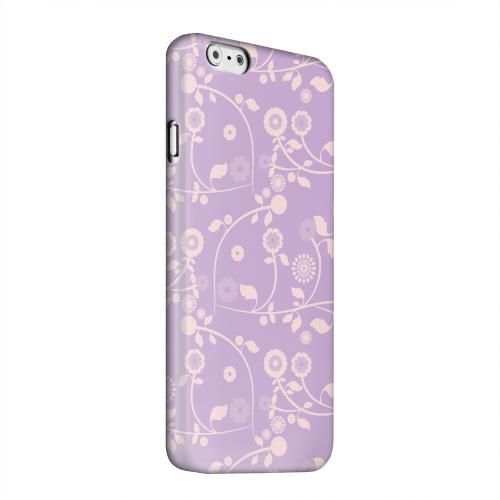 Geeks Designer Line (GDL) Apple iPhone 6 Matte Hard Back Cover - Floral 2 African Violet
