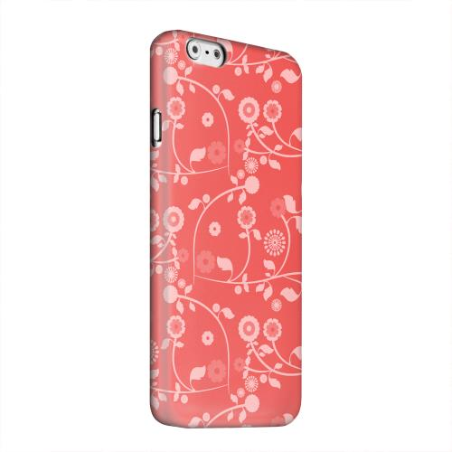 Geeks Designer Line (GDL) Apple iPhone 6 Matte Hard Back Cover - Floral 2 Poppy Red