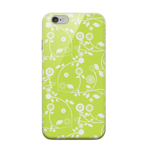 Geeks Designer Line (GDL) Apple iPhone 6 Matte Hard Back Cover - Floral 2 Tender Shoots
