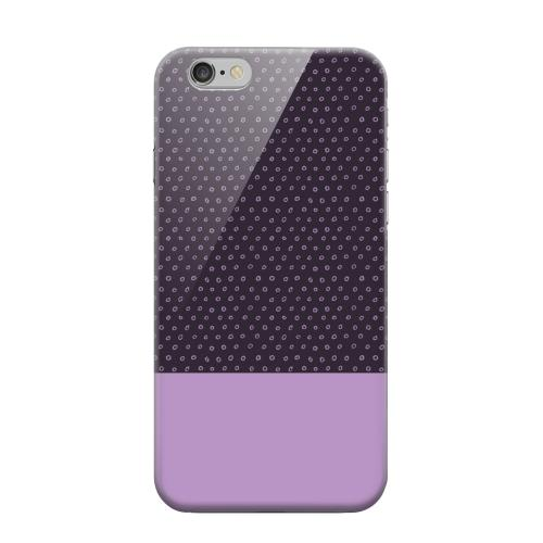 Geeks Designer Line (GDL) Apple iPhone 6 Matte Hard Back Cover - Little Circle Dots African Violet