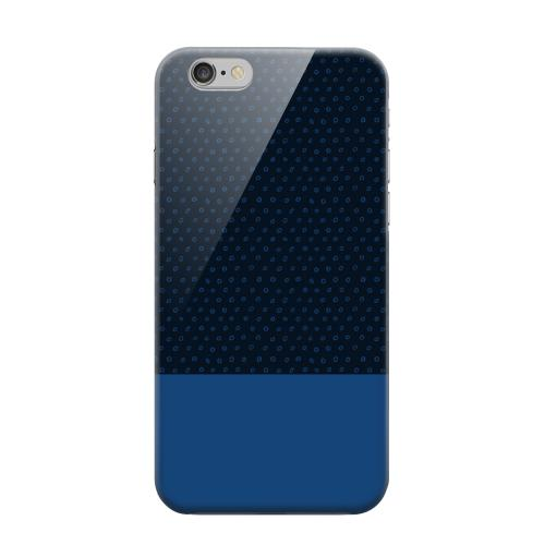 Geeks Designer Line (GDL) Apple iPhone 6 Matte Hard Back Cover - Little Circle Dots Monaco Blue