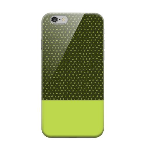 Geeks Designer Line (GDL) Apple iPhone 6 Matte Hard Back Cover - Little Circle Dots Tender Shoots