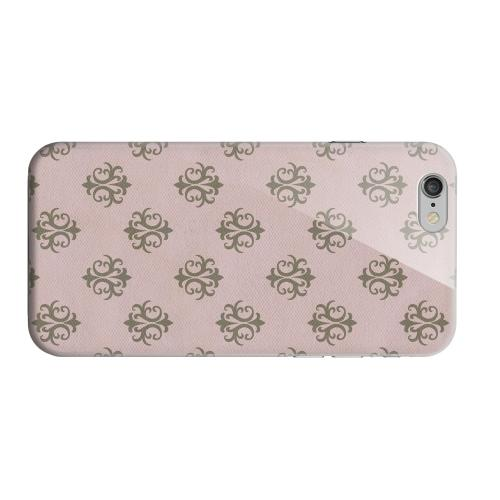 Geeks Designer Line (GDL) Apple iPhone 6 Matte Hard Back Cover - Ornamental African Violet