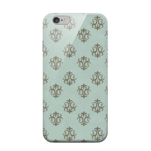 Geeks Designer Line (GDL) Apple iPhone 6 Matte Hard Back Cover - Ornamental Dusk Blue