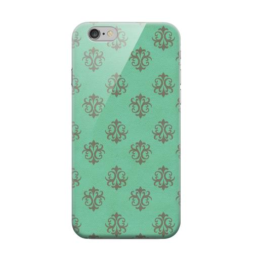 Geeks Designer Line (GDL) Apple iPhone 6 Matte Hard Back Cover - Ornamental Emerald