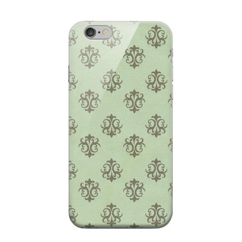 Geeks Designer Line (GDL) Apple iPhone 6 Matte Hard Back Cover - Ornamental Grayed Jade