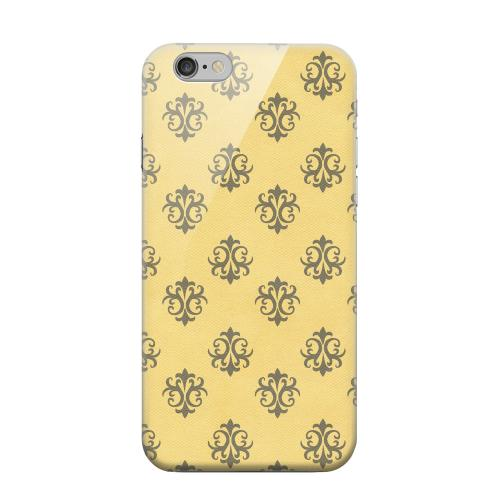 Geeks Designer Line (GDL) Apple iPhone 6 Matte Hard Back Cover - Ornamental Lemon Zest