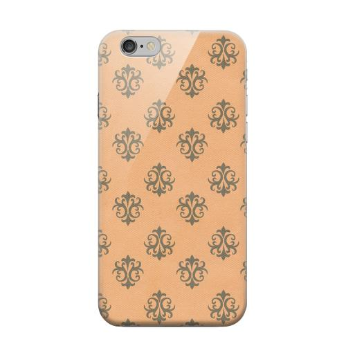 Geeks Designer Line (GDL) Apple iPhone 6 Matte Hard Back Cover - Ornamental Nectarine