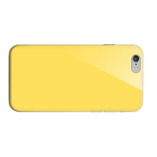 Geeks Designer Line (GDL) Apple iPhone 6 Matte Hard Back Cover - S13 Pantone Lemon Zest