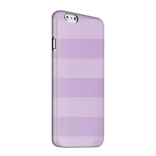 Geeks Designer Line (GDL) Apple iPhone 6 Matte Hard Back Cover - Stripes African Violet
