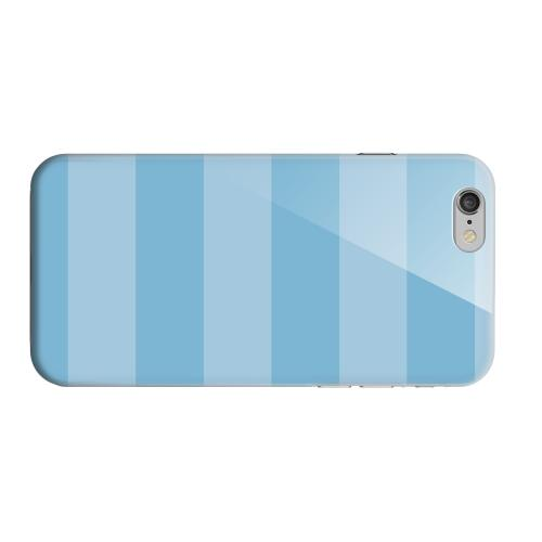 Geeks Designer Line (GDL) Apple iPhone 6 Matte Hard Back Cover - Stripes Dusk Blue
