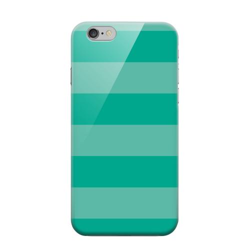 Geeks Designer Line (GDL) Apple iPhone 6 Matte Hard Back Cover - Stripes Emerald