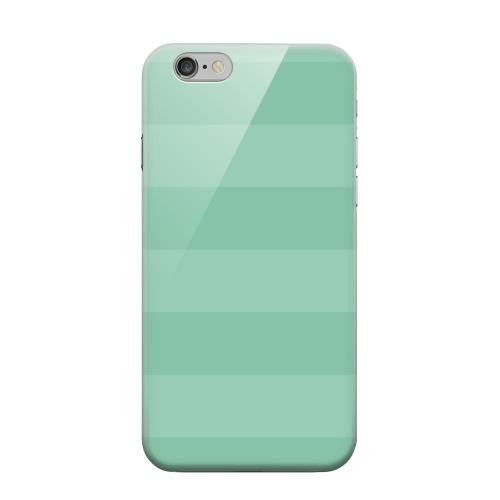 Geeks Designer Line (GDL) Apple iPhone 6 Matte Hard Back Cover - Stripes Grayed Jade