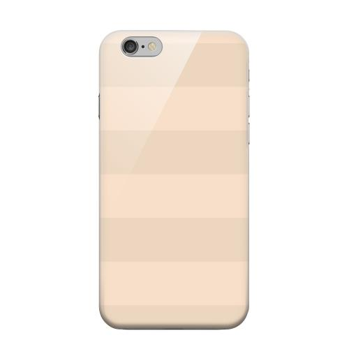 Geeks Designer Line (GDL) Apple iPhone 6 Matte Hard Back Cover - Stripes Linen