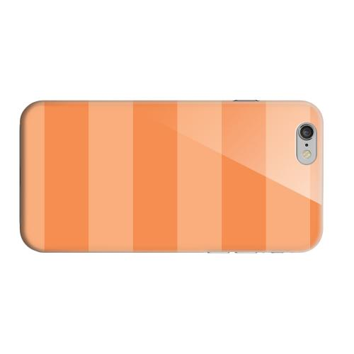 Geeks Designer Line (GDL) Apple iPhone 6 Matte Hard Back Cover - Stripes Nectarine