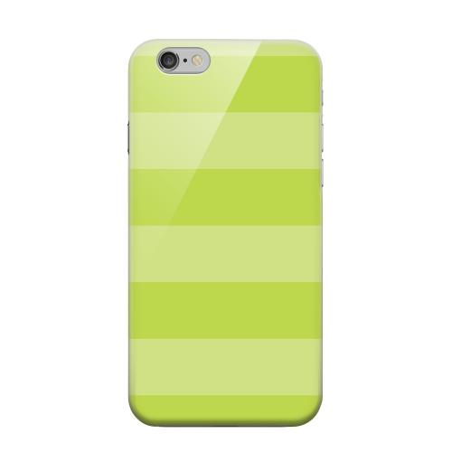 Geeks Designer Line (GDL) Apple iPhone 6 Matte Hard Back Cover - Stripes Tender Shoots