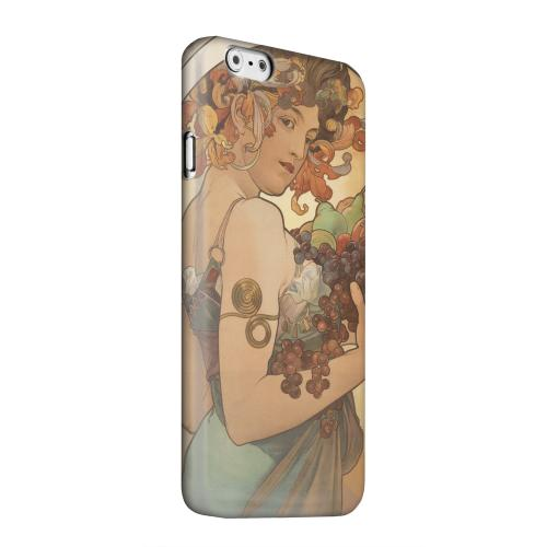 Geeks Designer Line (GDL) Apple iPhone 6 Matte Hard Back Cover - Alphonse Mucha Fruit