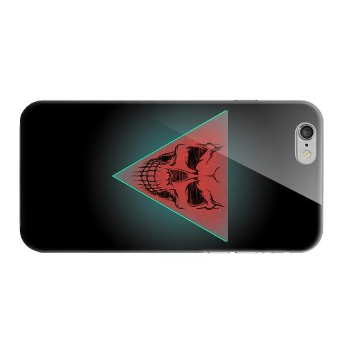 Geeks Designer Line (GDL) Apple iPhone 6 Matte Hard Back Cover - Dead Triangle