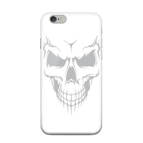 Geeks Designer Line (GDL) Apple iPhone 6 Matte Hard Back Cover - Evil Dead Mesh on White