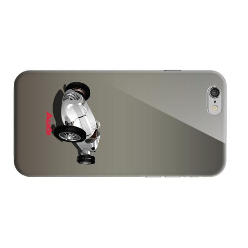 Geeks Designer Line (GDL) Apple iPhone 6 Matte Hard Back Cover - Classic Audi Race Car