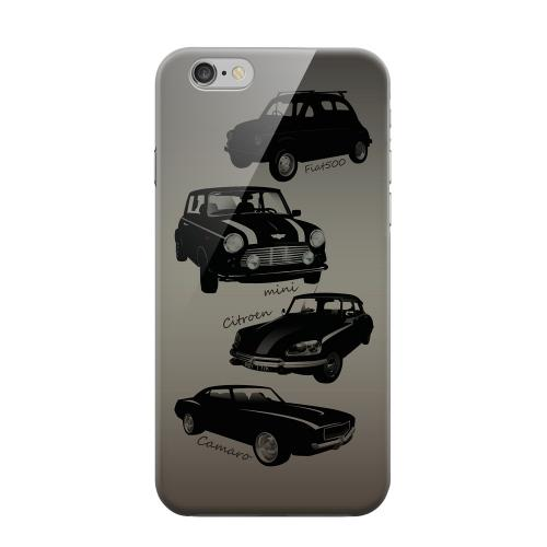 Geeks Designer Line (GDL) Apple iPhone 6 Matte Hard Back Cover - Classic Cars Fiat, Mini, Citroen, & Camaro