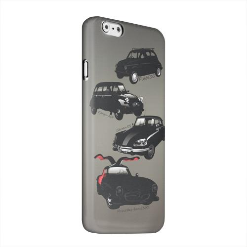 Geeks Designer Line (GDL) Apple iPhone 6 Matte Hard Back Cover - Classic Euro Cars Fade