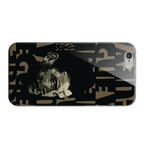 Geeks Designer Line (GDL) Apple iPhone 6 Matte Hard Back Cover - Che Guevara Serious Man on Brown